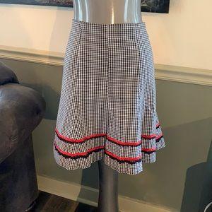 Morbid Threads Gingham Skirt
